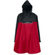 VAUDE Valero Poncho Unisex indian red